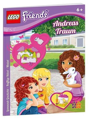 LEGO® Friends. Andreas Traum, mit LEGO® Mini-Set