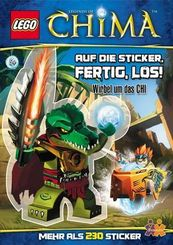 LEGO® Legends of Chima. Auf die Sticker, fertig, los!