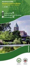 Wanderkarte Nordrhein-Westfalen Wandern rund um Rheine