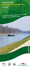 Wanderkarte Nordrhein-Westfalen Nördliches Tecklenburger Land