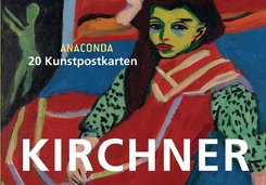 Postkartenbuch Kirchner, 20 Kunstpostkarten
