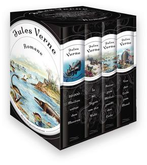Jules Verne, Romane - 20.000 Meilen unter den Meeren - In 80 Tagen um die Welt - Reise zum Mittelpunkt der Erde - Von de