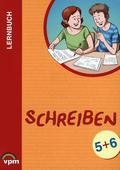Lernbuch: Schreiben: 5./6. Schuljahr, Lern- und Arbeitsbuch