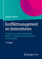 Konfliktmanagement im Unternehmen