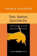 Text. Nation. Geschlecht.