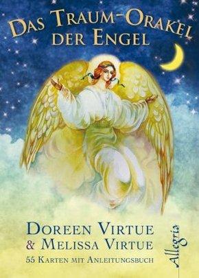 Das Traum-Orakel der Engel, Orakelkarten m. Buch
