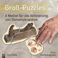 """Groß-Puzzles: 6 Motive für die Aktivierung von Demenzkranken, Thema """"Werkzeugkiste"""""""