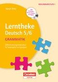 Lerntheke Deutsch 5/6: Grammatik, m. CD-ROM