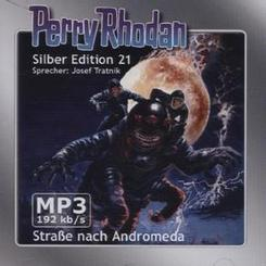 Perry Rhodan Silber Edition - Straße nach Andromeda, 2 MP3-CDs