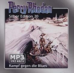 Perry Rhodan, Silber Edition, Kampf gegen die Blues, 2 MP3-CDs