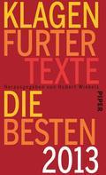 Klagenfurter Texte. Die Besten 2013