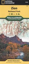 National Geographic Trails Illustrated Map Zion National Park