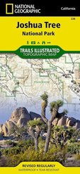 National Geographic Trails Illustrated Map Joshua Tree National Park