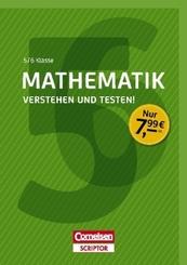 Mathematik - Verstehen und testen! 5./6. Klasse