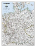 National Geographic Map Classic Germany, Planokarte