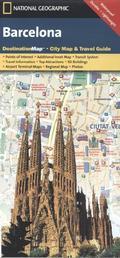 National Geographic DestinationMap Barcelona