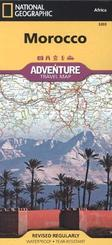 National Geographic Adventure Travel Map Morocco