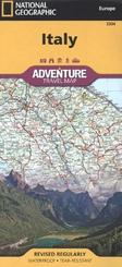 National Geographic Adventure Travel Map Italy