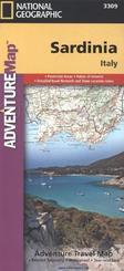 National Geographic Adventure Map Sardinia
