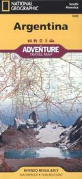 National Geographic Adventure Map Argentina