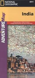 National Geographic Adventure Travel Map India