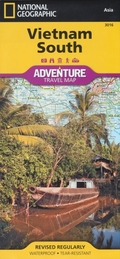 National Geographic Adventure Map Vietnam South