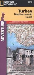 National Geographic Adventure Travel Map Turkey, Mediterranean Coast