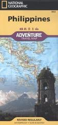National Geographic Adventure Travel Map Philippines