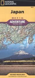 National Geographic Adventure Travel Map Japan