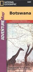 National Geographic Adventure Map Botswana