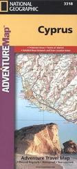 National Geographic Adventure Travel Map Cyprus