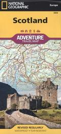 National Geographic Adventure Travel Map Scotland