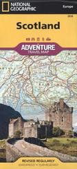 National Geographic Adventure Travel Map Scotland