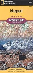 National Geographic Adventure Travel Map Nepal