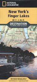 National Geographic Destination Touring Map & Guide New York's Finger Lakes