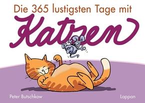 Die 365 lustigsten Tage mit Katzen