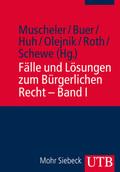 Fälle und Lösungen zum Bürgerlichen Recht - Bd.1