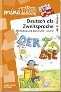 miniLÜK: Deutsch als Zweitsprache, Wortschatz und Grammatik - Stufe 2