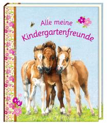 Freundebuch - Alle meine Kindergartenfreunde - Pferdefreunde