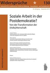 130: Soziale Arbeit in der Postdemokratie
