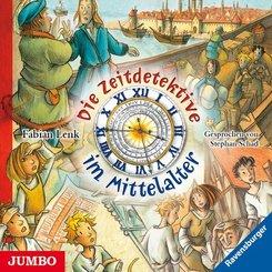 Die Zeitdetektive im Mittelalter, 3 Audio-CDs