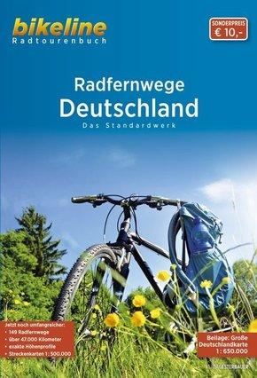 Bikeline Radtourenbuch RadFernWege Deutschland