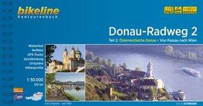 Bikeline Radtourenbuch Donau-Radweg - Tl.2