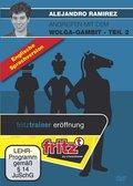 Angreifen mit dem Wolga-Gambit, englische Ausgabe, DVD-ROM - Tl.2