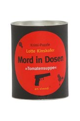 """Mord in Dosen, """"Tomatensuppe"""" (Puzzle)"""