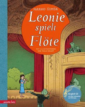 Leonie spielt Flöte, m. Audio-CD