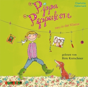Pippa Pepperkorn - neu in der Klasse, 1 Audio-CD