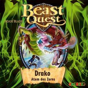 Beast Quest - Drako, Atem des Zorns, Audio-CD
