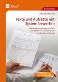 Texte und Aufsätze mit System bewerten