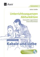 Friedrich Schiller 'Kabale und Liebe', m. CD-ROM